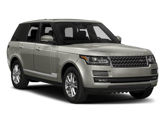 2017 Range Rover Configurations >> 2017 Land Rover Range Rover Td6 Diesel Hse Swb